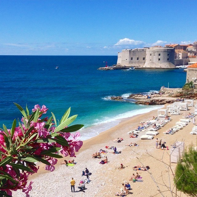 dubrovnik beach travel