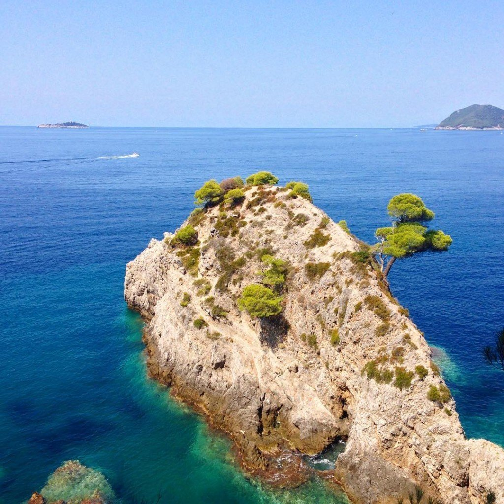 dubrovnik islands elaphite
