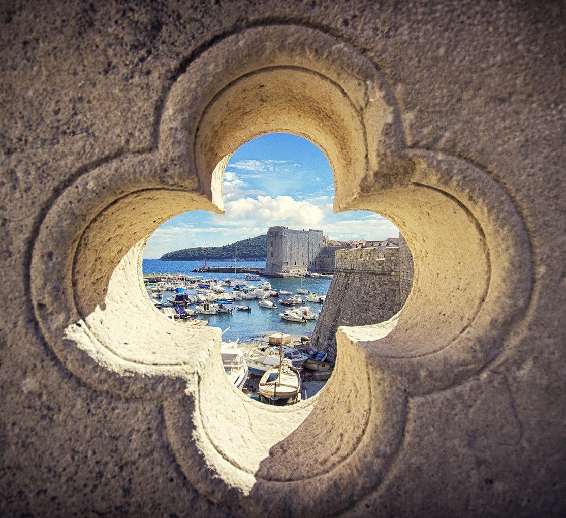 Dubrovnik rozeta