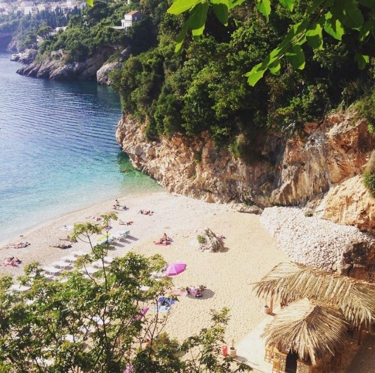 cava beach dubrovnik