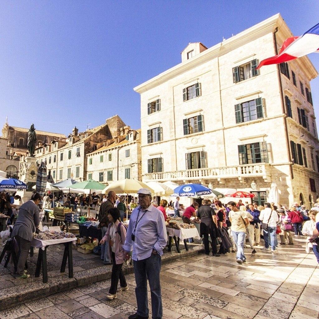 dubrovnik open market